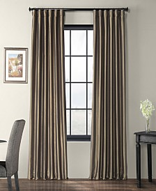 "Exclusive Fabrics & Furnishings Taffeta 50"" x 120"" Curtain Panel"