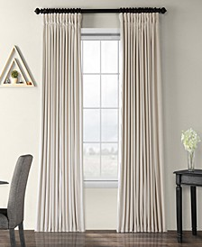 "Signature Extra Wide Blackout Velvet 100"" x 96"" Curtain Panel"
