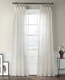 "Exclusive Fabrics & Furnishings Sheer 50"" x 96"" Curtain Panel"