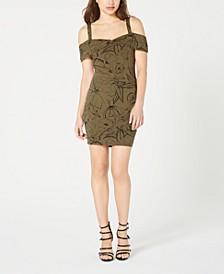 Cold-Shoulder Bodycon Dress