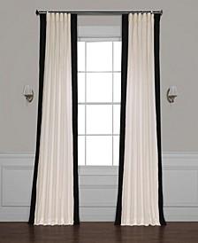 "Vertical Color block Panama 50"" x 84"" Curtain Panel"