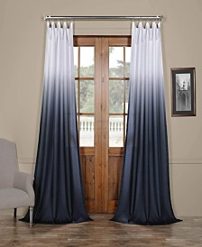 "Exclusive Fabrics & Furnishings Ombre Semi Sheer 50"" x 84"" Curtain Panel"