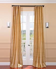 "Textured Dupioni Silk 50"" x 108"" Curtain Panel"