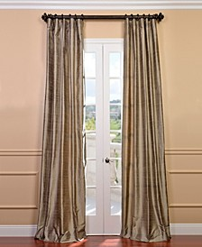"Textured Dupioni Silk 50"" x 84"" Curtain Panel"