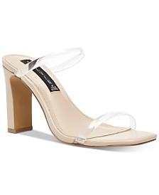 STEVEN by Steve Madden Women's Jersey Naked Sandals