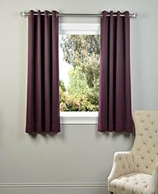 """Grommet Blackout 50"""" x 63"""" Curtain Panel"""