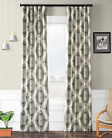 "Exclusive Fabrics & Furnishings Henna Blackout 50"" x 84"" Curtain Panel"