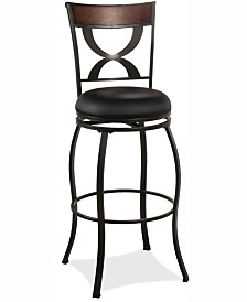 Stockport Swivel Bar Height Stool