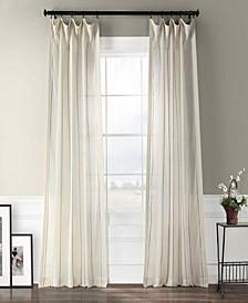 "Aruba Striped Linen Sheer 50"" x 84"" Curtain Panel"