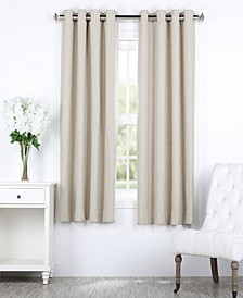 "Bellino Grommet Blackout 50"" x 63"" Curtain Panel"