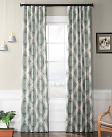 "Exclusive Fabrics & Furnishings Henna Blackout 50"" x 84"" Curtain Panel"