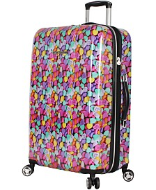 "Betsey Johnson 26"" Hardside Expandable Spinner Suitcase"