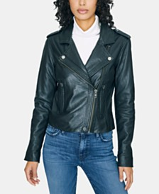 Sanctuary Leather Moto Jacket