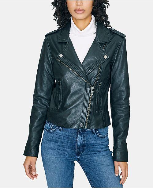 Sanctuary Leather Moto Jacket