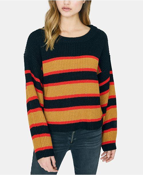 Sanctuary Ezra Striped Knit Sweater