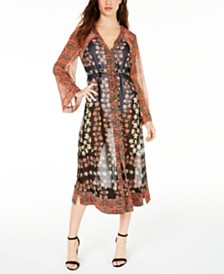 GUESS Shanna Drawstring Kimono