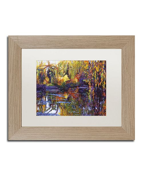 "Trademark Global David Lloyd Glover 'Tapestry Reflection' Matted Framed Art - 11"" x 14"""