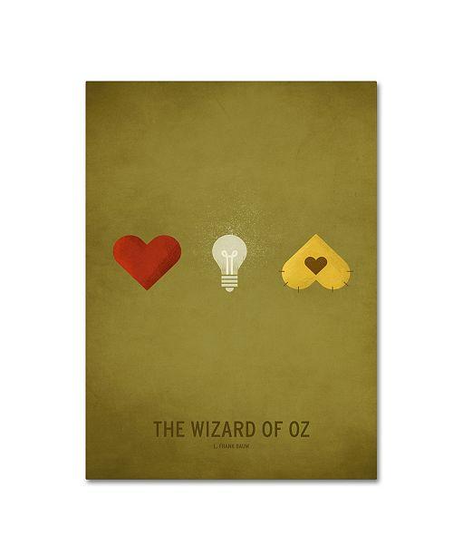 "Trademark Global Christian Jackson 'Oz Kid' Canvas Art - 14"" x 19"""