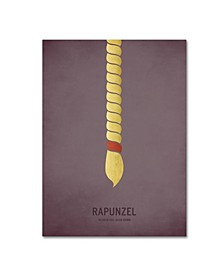 "Christian Jackson 'Rapunzel' Canvas Art - 14"" x 19"""