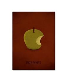 """Christian Jackson 'Snow White' Canvas Art - 14"""" x 19"""""""