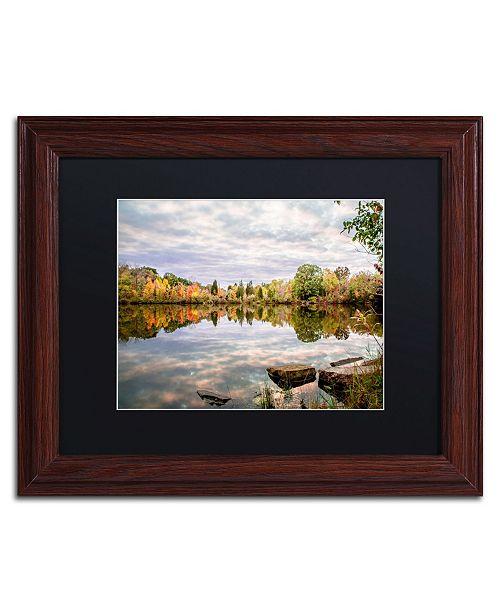 """Trademark Global Jason Shaffer 'Morgan Street 4' Matted Framed Art - 14"""" x 11"""""""