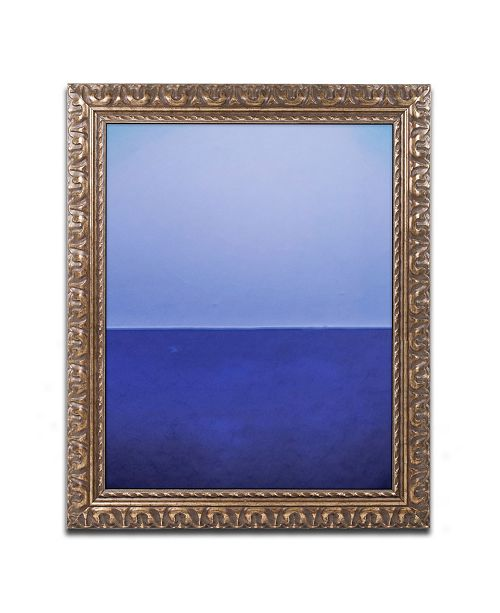 """Trademark Global Claire Doherty 'Silence' Ornate Framed Art - 11"""" x 14"""""""