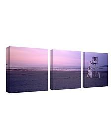 """Preston 'Beach Chair' Canvas Art - 22"""" x 22"""""""
