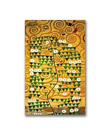 "Gustav Klimt 'Tree of Life' Canvas Art - 32"" x 18"""