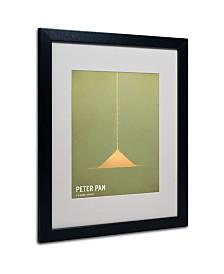 """Christian Jackson 'Peter Pan' Matted Framed Art - 20"""" x 16"""""""
