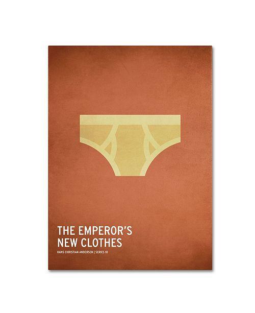 "Trademark Global Christian Jackson 'Emperor's New Clothes' Canvas Art - 32"" x 22"""