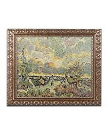 """Vincent van Gogh 'Autumn Landscape' Ornate Framed Art - 16"""" x 20"""""""