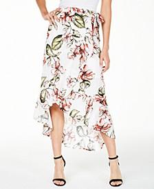 Karlotta Front-Wrap Skirt