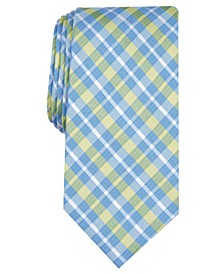 Men's Aubey Slim Plaid Tie