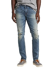 Silver Jeans Co. Taavi Skinny Fit Ripped Jean