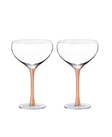 Geneva Champagne Coupe - Set of 2