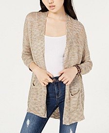 Juniors' Drop-Shoulder Cardigan Sweater, Created for Macy's