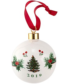 Christmas Tree 2019 Annual Bauble Ornament