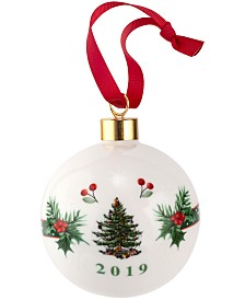 Spode Christmas Tree 2019 Annual Bauble Ornament
