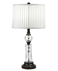 Dale Tiffany Darya 24% Lead Hand Cut Crystal Table Lamp