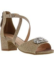 Little & Big Girls Pernia Gems Sandals