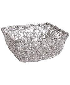 """KINDWER 9"""" Square Twist Wire Mesh Basket"""