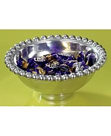 "KINDWER 6"" Aluminum Imperial Beaded Round Bowl"