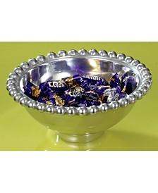 "KINDWER 6"" Aluminum Imperial Beaded Round Bowl"