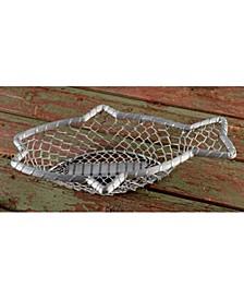 "KINDWER 16"" Chain-Link Metal Fish Basket"