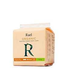 Rael Organic Cotton Long Panty Liners