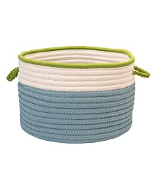 Colonial Mills In The Band Braided Storage Bin
