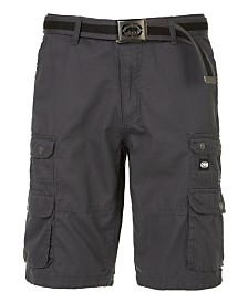 Ecko Unltd Men's Mini Stacked 19 Cargo Short 12""