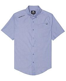Men's Slanted Woven Shirt
