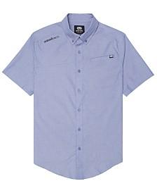 Ecko Unltd Men's Slanted Woven Shirt
