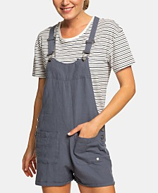 Roxy Juniors' Racerback Shortalls